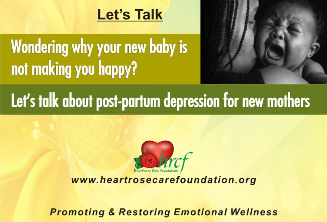 WONDERING WHY YOUR NEW BABY IS NOT MAKING YOU HAPPY?